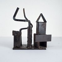 12x13x5 Inches - Steel